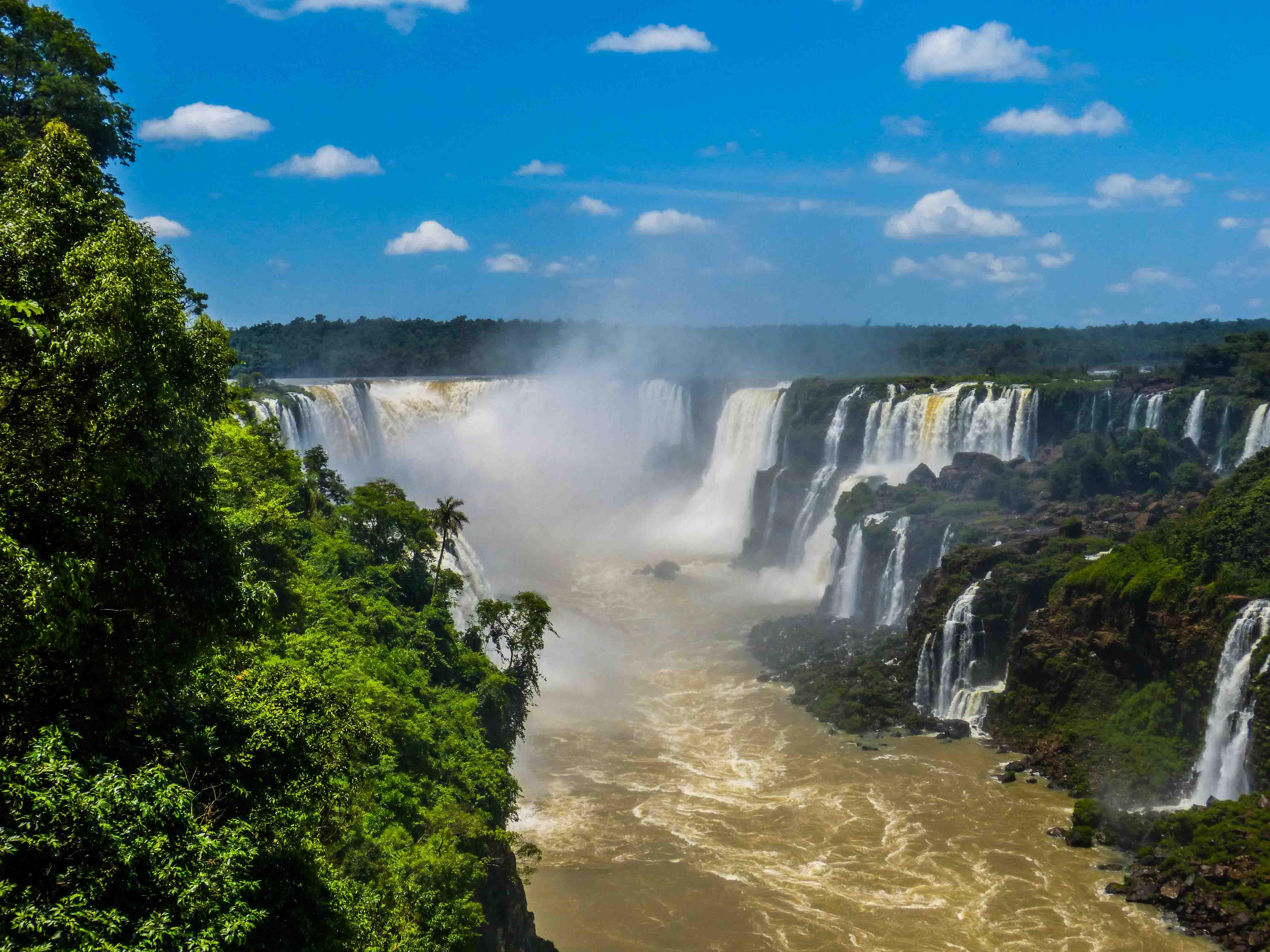 The magnificent Iguazú Falls