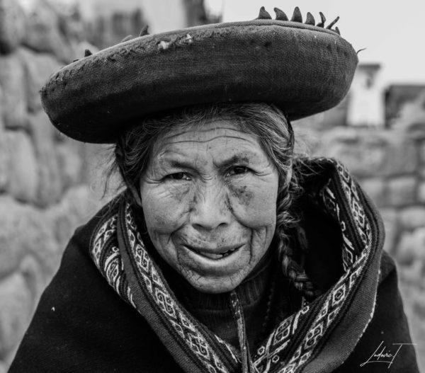 Portrait Femme Pérou