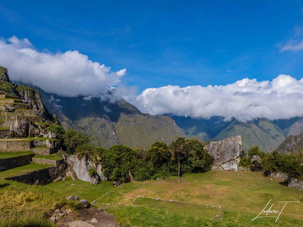 Vue depuis le Machi Picchu